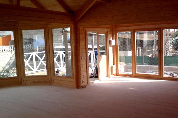 Casas de madera vitoria de 68 m2 daype online for Casas de madera shop