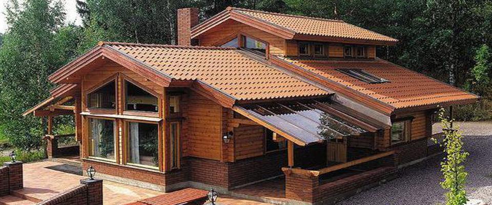 Casas de madera casetas de jard n piscinas de poliester - La casa de madera ...