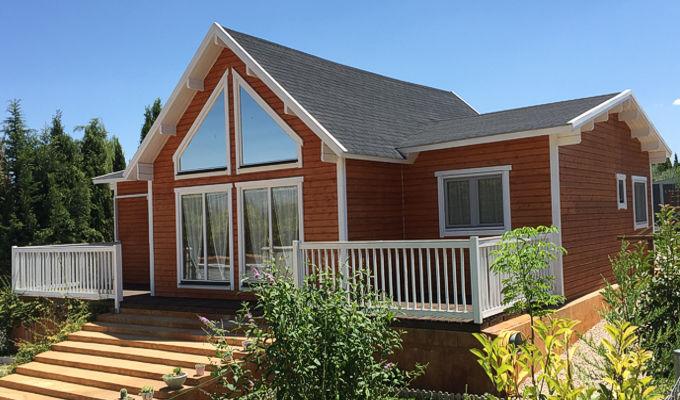 Casas de madera francia de 126 m2 daype online - Maderas daype ...