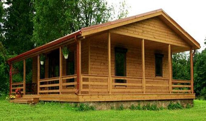 Casas de madera Riopas de 72 m2.   Daype Online