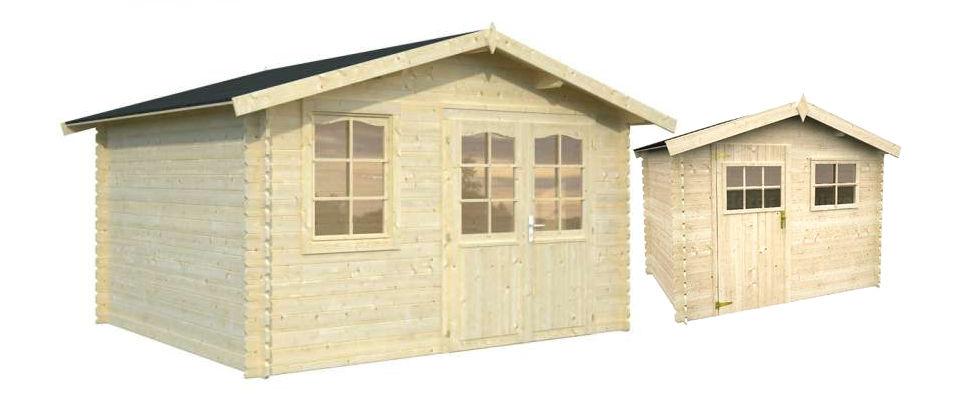 Casetas de jardin madera caseta de madera para jardin for Casetas de jardin de resina aki