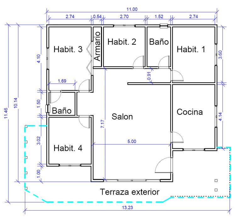 Plano casa online cool aada el smbolo de plano de casa for Plano habitacion online